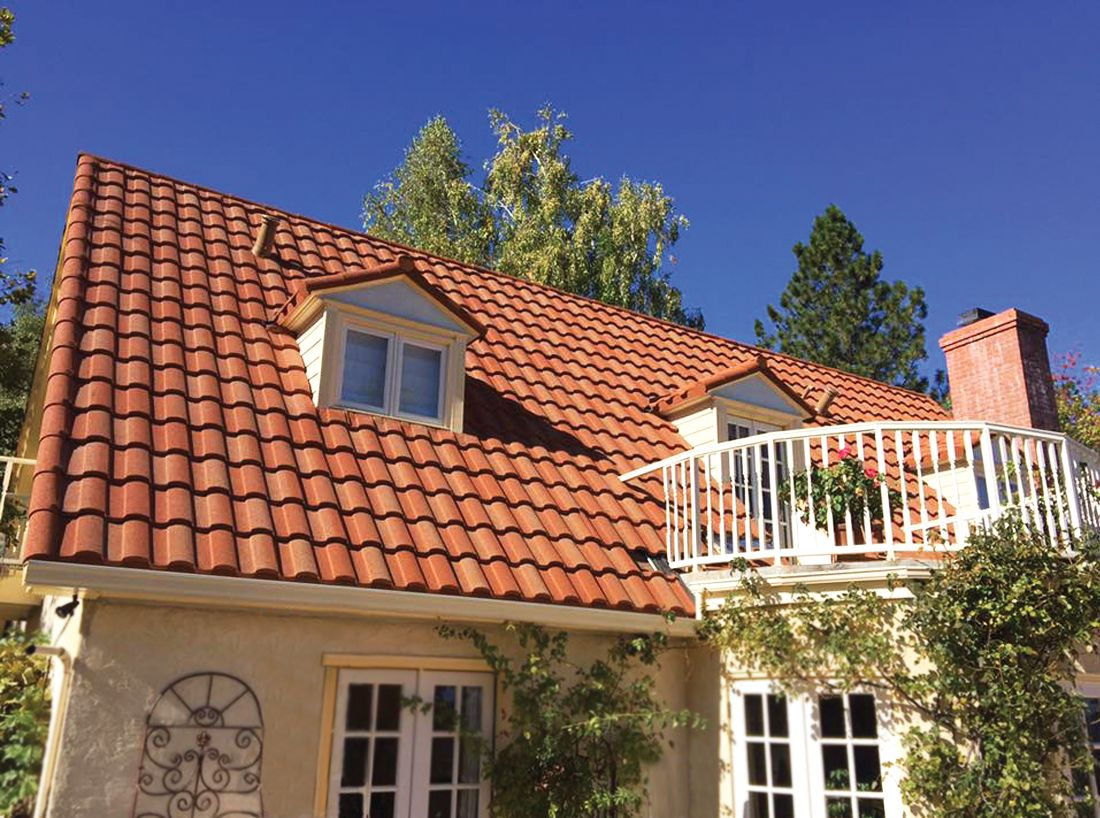 Coated Steel Spanish Tile Pictures And Styles To Choosetrue Green Roofing Solutions
